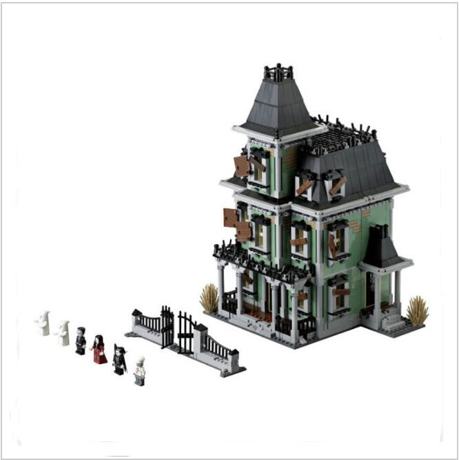 Lis  16007 2141Pcs Monster Fighter The Haunted House Model Set Building Blocks Kits Model Compatible 10228 legoINGLYS  Toys the monster next door
