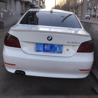For BMW E60 525i 528i 535i 550i 2004 2010 ABS Plastic Tail Wing Unpainted Primer Color Rear Trunk Boot Lip Spoiler