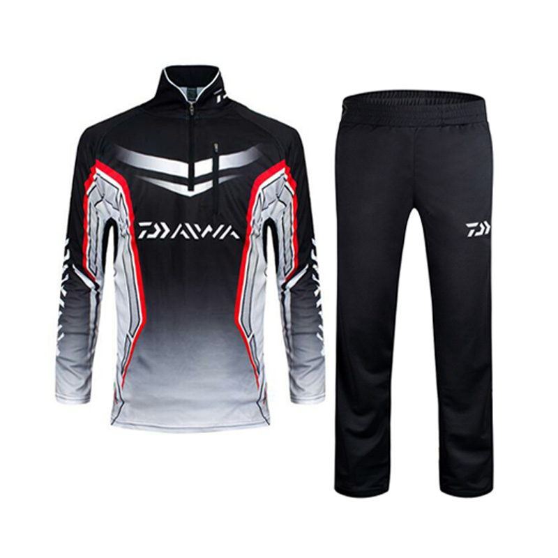2017 New Arrival Fishing Clothing Sets Men Breathable Upf