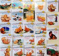 24 livres Biscuit série Phonics anglais livres d'images je peux lire enfants jouets éducatifs pour enfants poche livre de lecture
