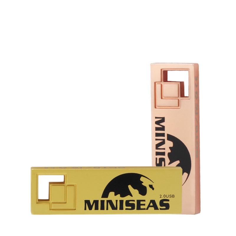 Miniseas Clés USB 2017 Cool Metal 8 Go 16 Go 32 Go Stylo Pendrive - Stockage externe - Photo 4