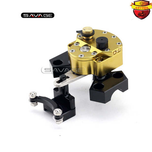 For KAWASAKI Z800 2013 2014 2015 2016 Motorcycle Accessories Steering Damper Stabilizer with Mounting Bracket Kit for kawasaki z750 z800 z 750 z 800 universal motorcycle accessories stabilizer damper steering mounting all year