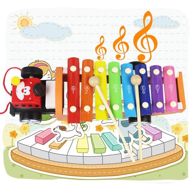 Hape Hand Knocking Piano Child Xylophone Baby Boy Toy 1