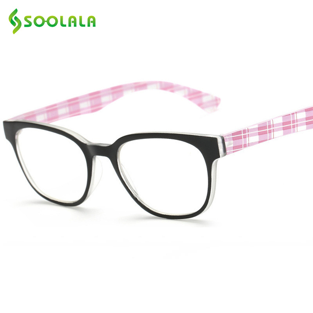 9e55ae53c0 SOOLALA Reading Glasses 2017 Fashion Women Men Cheap Glasses Frame Computer Reading  Glasses +1.0 1.5 2.0 2.5 3.0 3.5 4.0