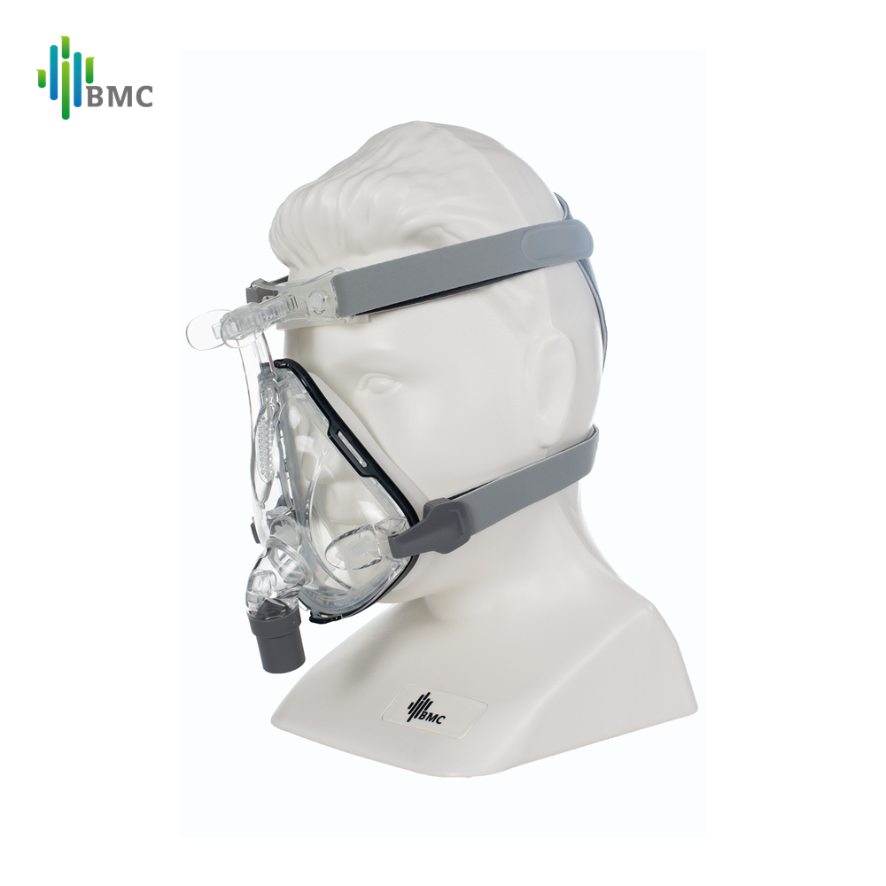 Image 3 - BMC F1B Full Face Mask 2019 Fashion Type For CPAP BIPAP Machine Size S/M/L Have Special Effects For Anti Snoring And Sleep Aid-in CPAP from Beauty & Health