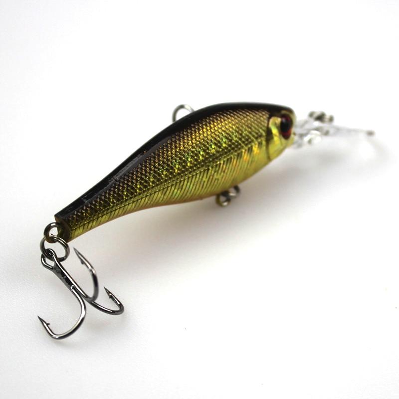 6Pcs Cilësia më e lartë e Peshkimit Minow Vendosja e joshur Wobler - Peshkimi - Foto 4