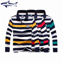 2017 Tace Shark Mens Sweaters Excessive High quality Autumn Cotton Striped Sweater Males Homme Shirt Model Informal Print Pullover Males Pull