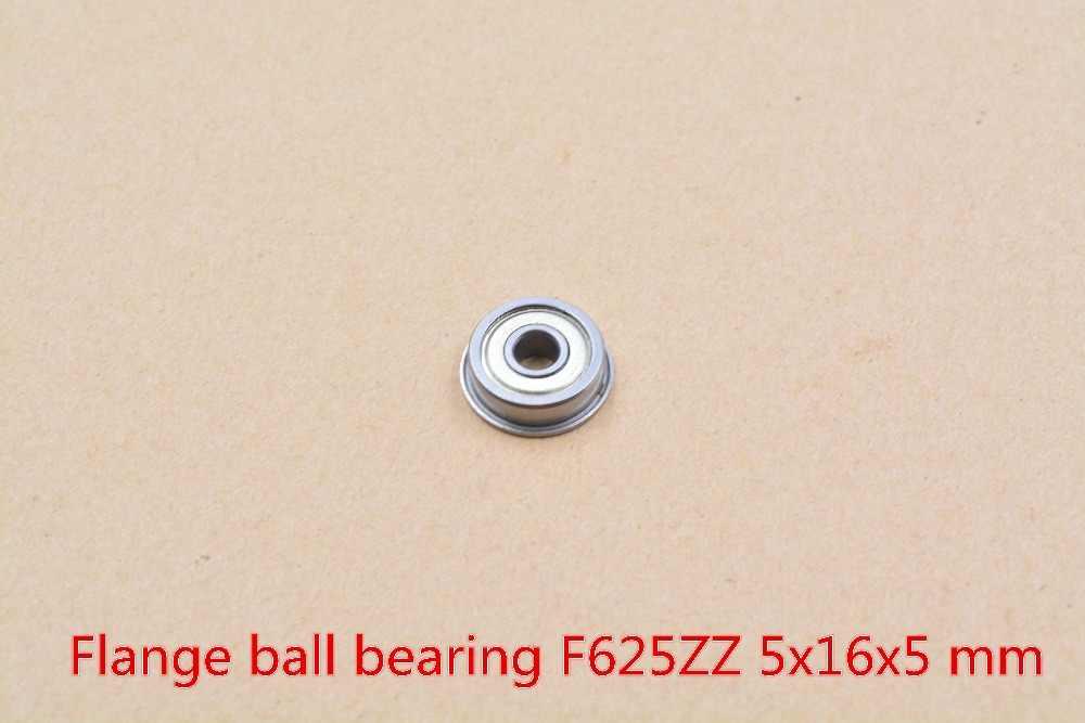5 ミリメートルベアリング F625ZZ 625-2RS 625ZZ 5 ミリメートル × 16 ミリメートル × 5 ミリメートルミニチュアダブルシールカバー深溝ボール 1 個