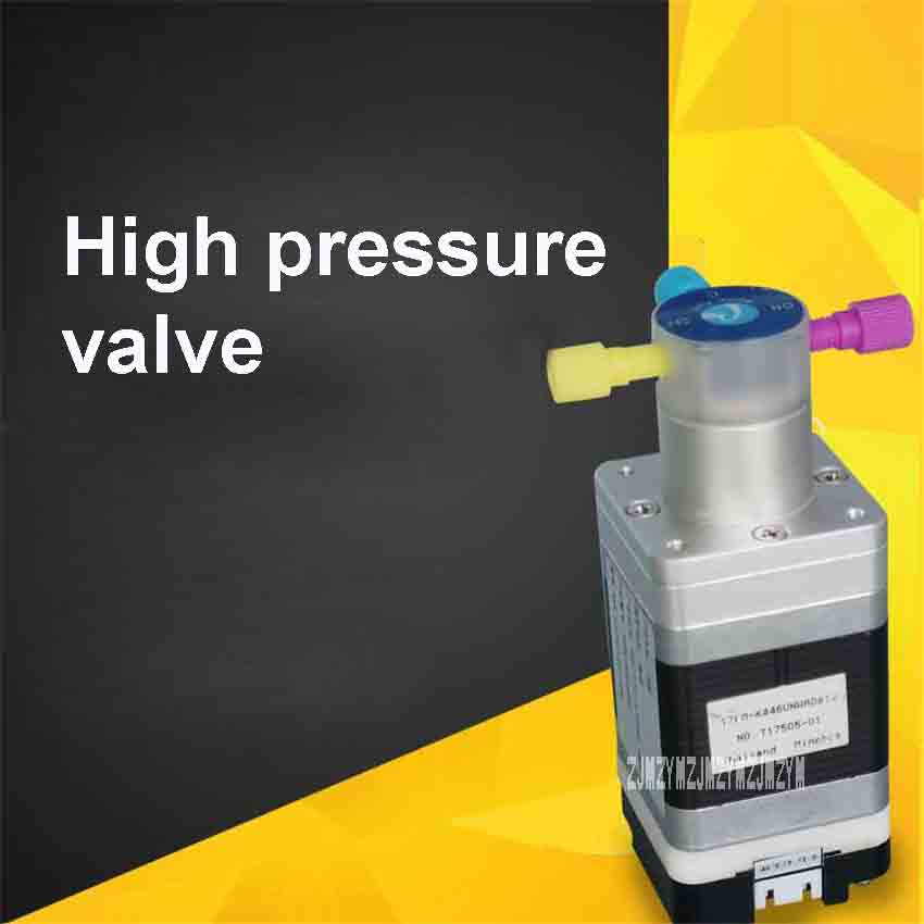 High Pressure Microfluidic Solenoid Valve QHF Y S T02 K1.5 M00 Two way /Three way Switching Valve Solenoid Valve DC24V 17W 1.5MM