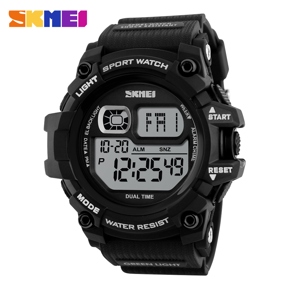 SKMEI Multifunctional Tough Shock Resistant Sports Watch
