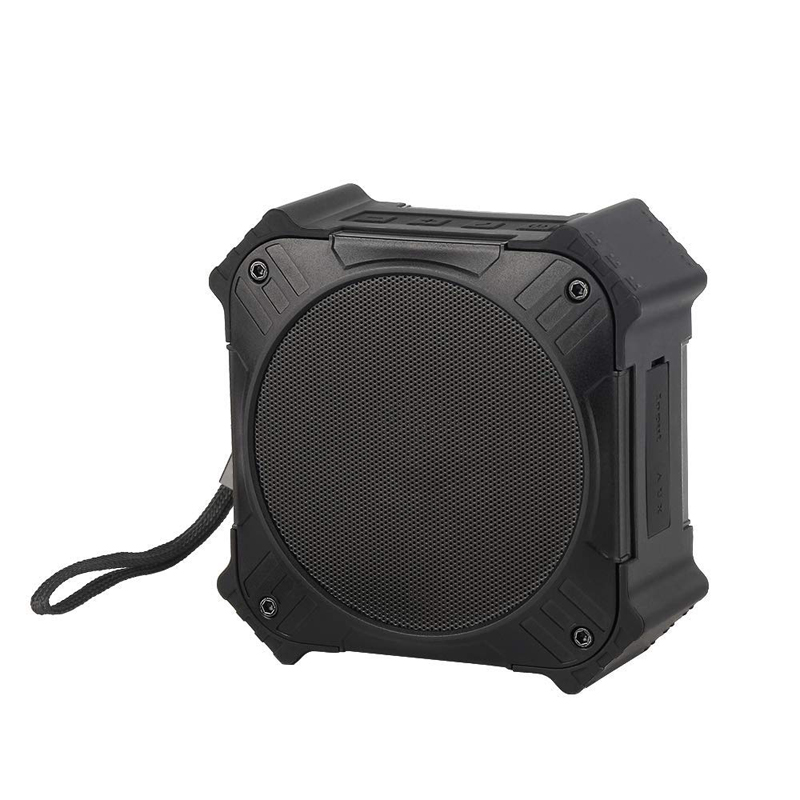 Solar Powered Bluetooth Speaker Portable IPX6 Waterproof Wireless Speakers Stereo Sound Deep Bass Mic AUX Universal mobile phone