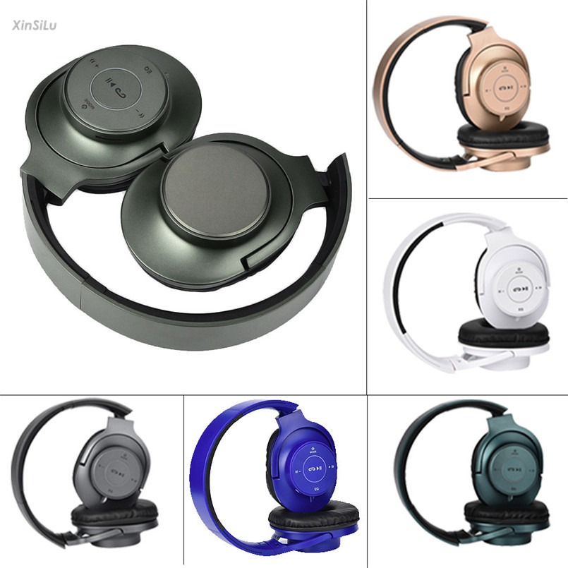 Bluetooth Foldable P37 Headset Stereo Headphone Earphone  TF-card Music play for Phone, Samsung Galaxy's, HTC's headset XinSiLu t8 wireless bluetooth headphone foldable sport stereo earphone hifi headset handsfree with microphone support tf card music play