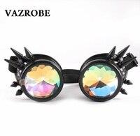 Vazrobeลานตาแว่นกันแดดผู้ชายผู้หญิงSteampunkแหลมอาทิตย์แว่นตาโกธิคแว่นตาวินเทจย้อนยุครอบวงกลมพรร...