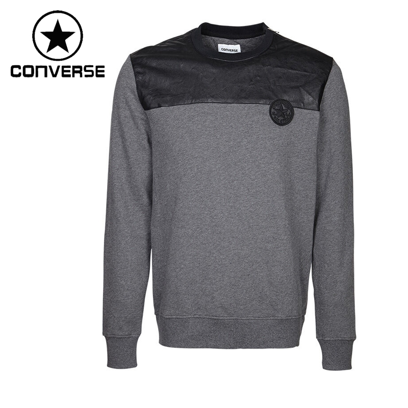 ФОТО Original New Arrival  Converse   Men's Knitted Patchwork Pullover Jerseys Sportswear