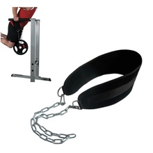 Weight Lifting Gym Belt Powerlifting Barbell Weights Pull Up Fitness Weight Lifting Belt With Chain Bodybuilding Gym Equipment