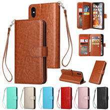 Flip Wallet Leather Magnetic Case for Iphone 8 Plus Case 5 5s 6s 6 Plus 6s Plus 7 8 7 Plus X XR XS XS Max Luxury Cover colorized flowers wallet leather stand case for iphone 6s plus 6 plus 5 5 inch