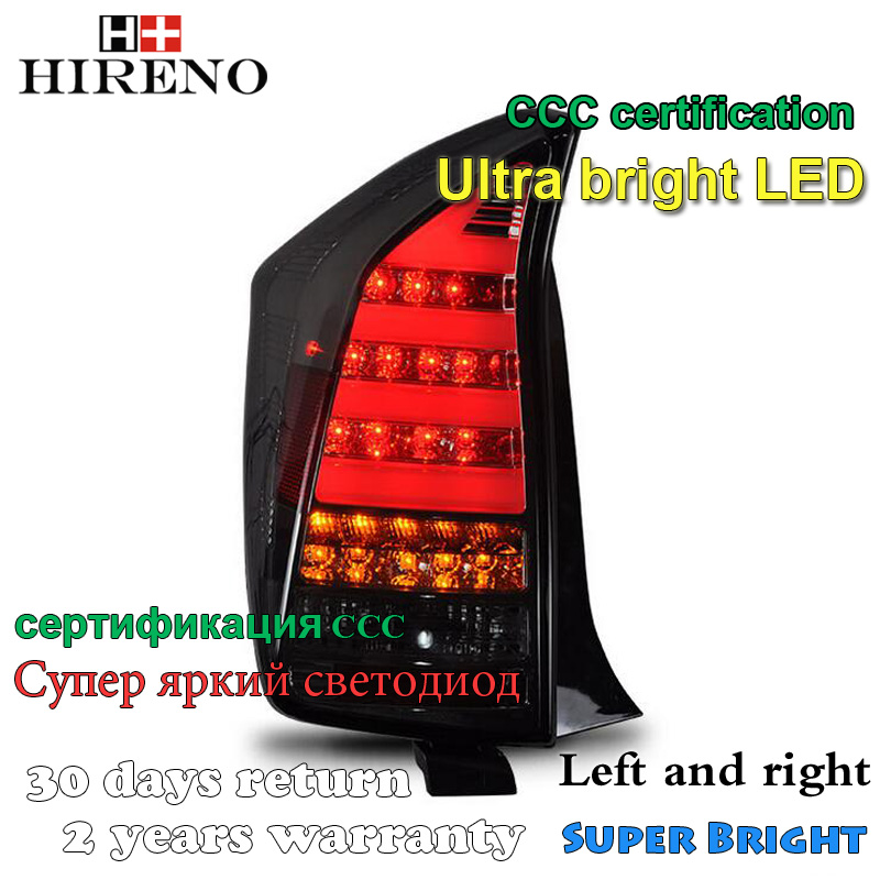 Hireno <font><b>Tail</b></font> Lamp for Toyota Prius 2009 2010 2011 Taillight Rear Lamp Parking Brake Turn Signal Lights