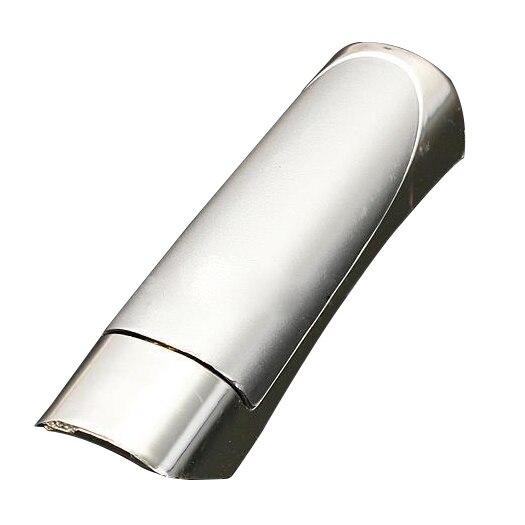 Chrome Universal Car Interior Handbrake Self Adhesive Brake Lever Cover Silver