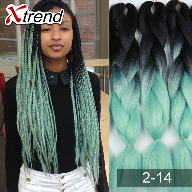 Brands Synthetic Hair Extensions Two Color Hair Extentions Multi
