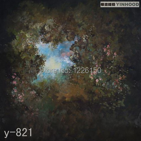Mysterious scenic Backdrop y-821,10ft x20ft Hand Painted Photography Background,estudio fotografico,backgrounds for photo studio mysterious moonlight 10 x10 cp computer painted scenic photography background photo studio backdrop zjz 509
