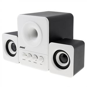 Image 3 - SADA D 203 Wired Mini Bass Kanone 3 W PC Kombination Lautsprecher Mobile PC Lautsprecher mit 3,5mm Stereo Jack und USB 2,1 Verdrahtete Angetrieben