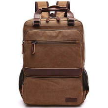 New Vintage Backpack Canvas Rucksack Leisure Travel School Bags for Teenagers Unisex Laptop Backpacks Men Bagpack Mochilas Bolsa