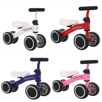Dzieci zabawki do jeżdżenia rowerek biegowy trzy koła trójkołowy zabawka dla dziecka rower chodzik dla dzieci od 1 do 3 lat dziecko najlepszy prezent tanie i dobre opinie Ride on DFUT7893 DIWONI 3 lat 50*38*18cm Metal Unisex Cztery None