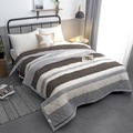 2018 New Plaid Summer Quilt Bedspread Blanket Comforter Bed Cover Quilting Home Textiles Suitable Thin Coverlet YM32
