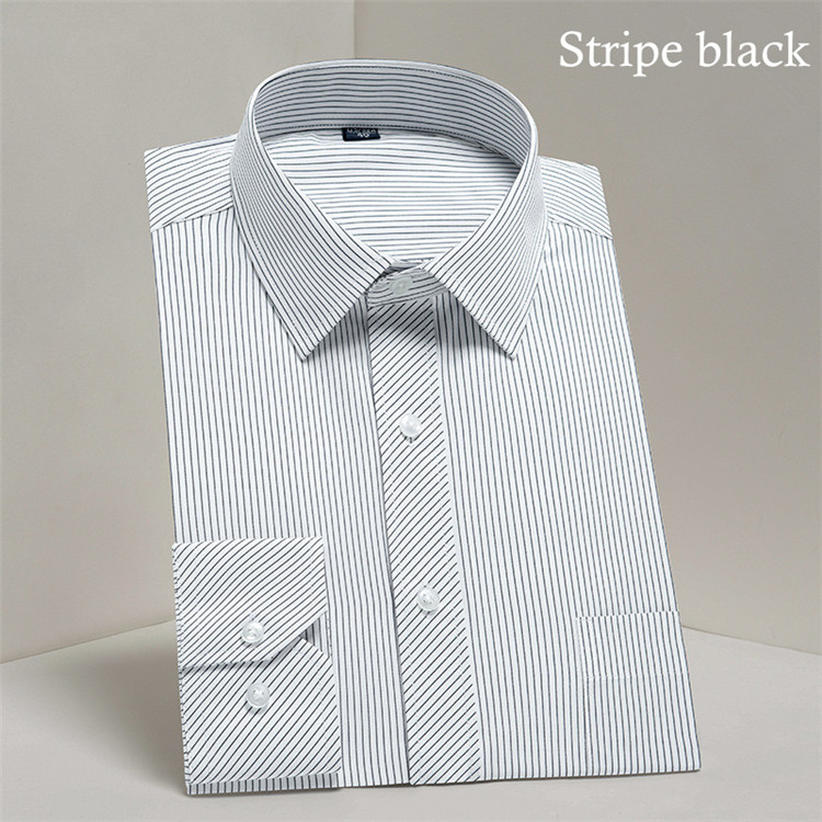 HTB1891IB7KWBuNjy1zjq6AOypXaV - 2019 Men Dress Shirt Long Sleeve Slim Brand Man Shirts