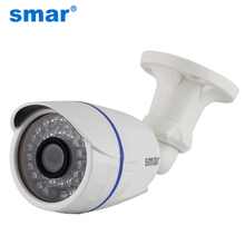 1.0MP/2MP Cámara Bala 720 P 1080 P Cámara Ip POE HD Visión Nocturna de Seguridad A Prueba de agua de Audio Externo CCTV Cámara ONVIF