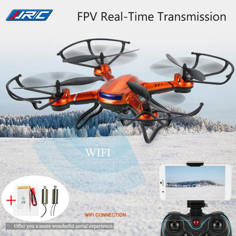 Jjrc H12w Fpv Drones With Camera Wifi Quadcopters Flying Camera Dron Rc Helicopter Remote Control Toys For Kids Copters jjrc h47 elfie drone dron foldable rc pocket selfie drones with wifi fpv 720p hd camera quadcopter helicopter remote control toy