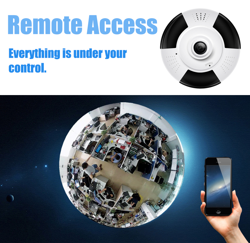Lintratek Беспроводная панорамная ip камера 1080 P Wi Fi камера видеонаблюдения рыбий глаз 360 градусов Мини CCTV дома Camara IPCAM #47 - 2