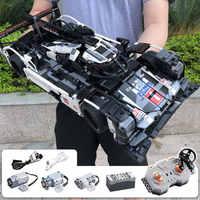 CADA Endurance RC briques de voiture compatibles avec la technologie MOC modèle blocs de construction télécommande voiture course jouets pour enfants