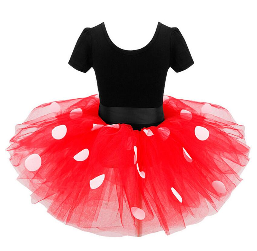 Girls Dress Ear Headband Carnival Party Fancy Costume Ballet Stage Performance Dresses Christmas For Kids Baby Clothes