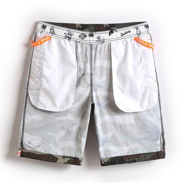 Gailang Brand Casual Men's Swimwear Swimsuit Board Shorts Men Beach Active Jogger Bermudas Man Boxers Trunks Quick Dry Bottoms