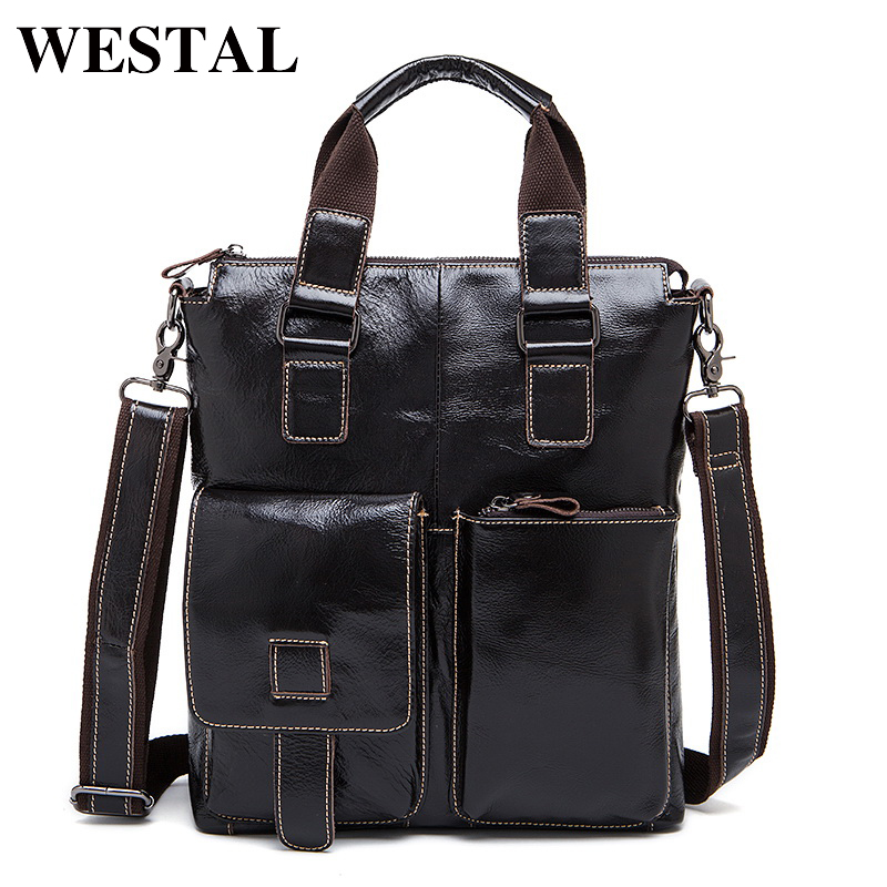 WESTAL Genuine Leather Men Bag Crossbody Shoulder Handbags Men's Messenger Bags Leather Bag New Fashion Male Handbag 259 neweekend genuine leather bag men bags shoulder crossbody bags messenger small flap casual handbags male leather bag new 5867