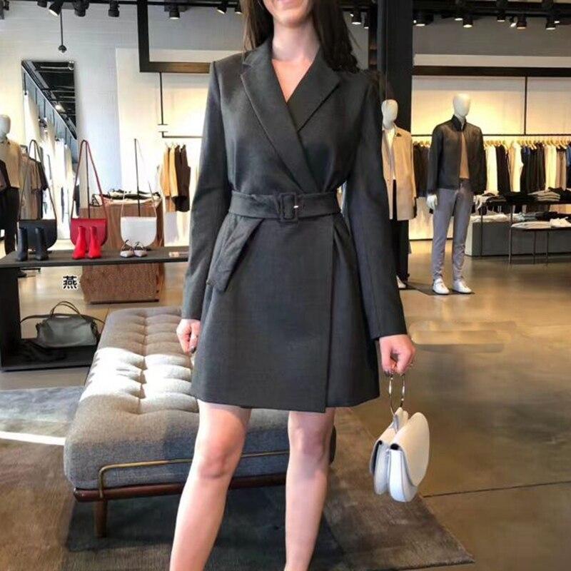 Bureau femmes piste noir Blazer robes