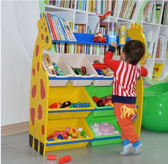 Children 39 s toys nursery toys rack storage rack wood rack - Estantes para guardar juguetes ...