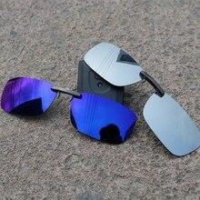 Rompin солнцезащитные очки для рыбалки, поляризованные очки для рыбалки, линзы с зажимом для просмотра рыбы, поплавок Auti-UV зажимы в виде солнцезащитных очков для рыбалки