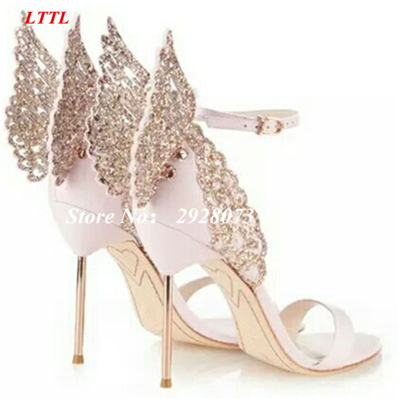 Compare Prices on Baby Pink High Heels Sandals- Online Shopping ...
