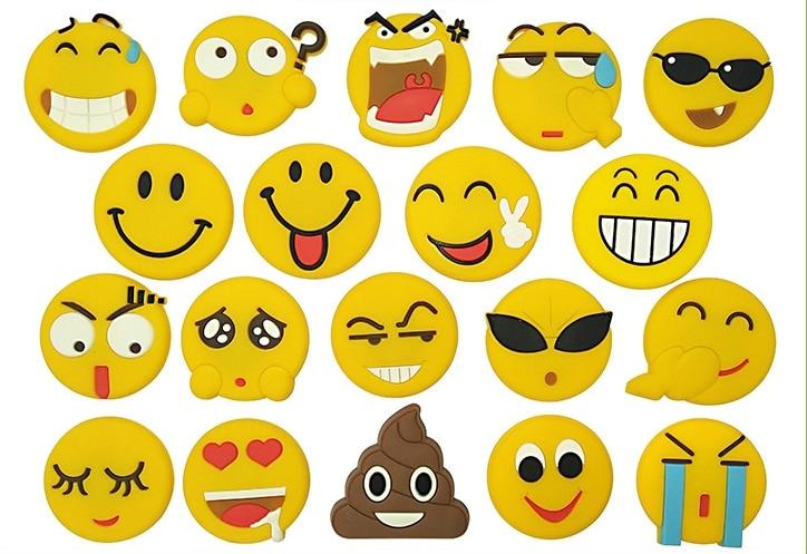 New cute cartoon character smiley face fridge magnet