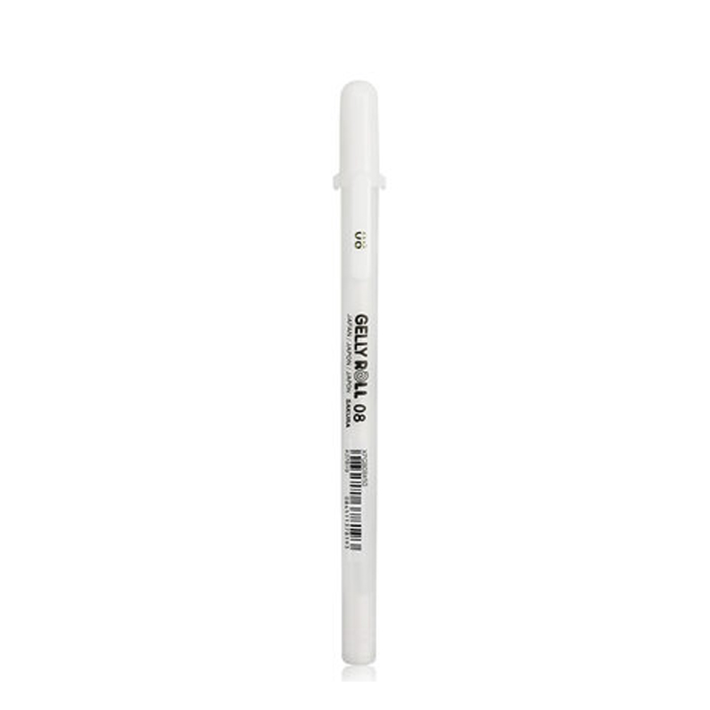 Image 5 - 12 Pcs/Lot Sakura WHITE Gold Gelly Roll Water Based 0.7 mm XPGB#50 Gel Pen made in Japan-in Gel Pens from Office & School Supplies