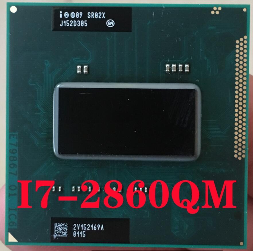 Intel Core I7-2860QM SR02X Laptop Processor Socket G2 RPGA988B Notebook Cpu 100% Working Properly I7 2860QM