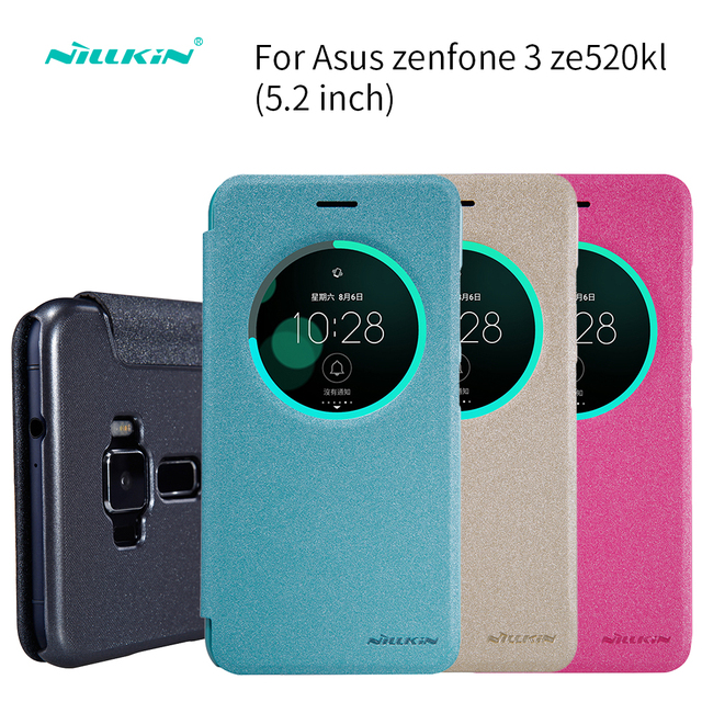 Case For Asus Zenfone 3 Ze520kl Leather Case 52 Inch