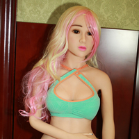 158 см реального металлический каркас TPE силиконовые Секс-куклы для мужчин японский оральный анальный влагалище большой грудью Секс любовь к...