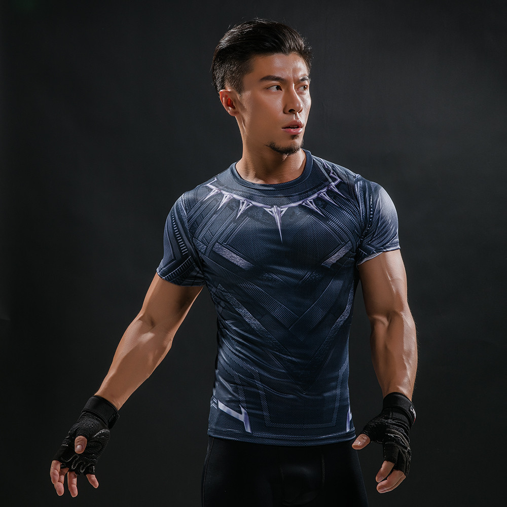 Punisher 3D Printed T-shirts Men Compression Shirts Long Sleeve Cosplay Costume crossfit fitness Clothing Tops Male Black Friday 72