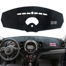 Приборной панели автомобиля крышка пустотелая лампа коврик приборная панель ковровое покрытие Коврик защита для Mini Cooper R55 R56 аксессуары