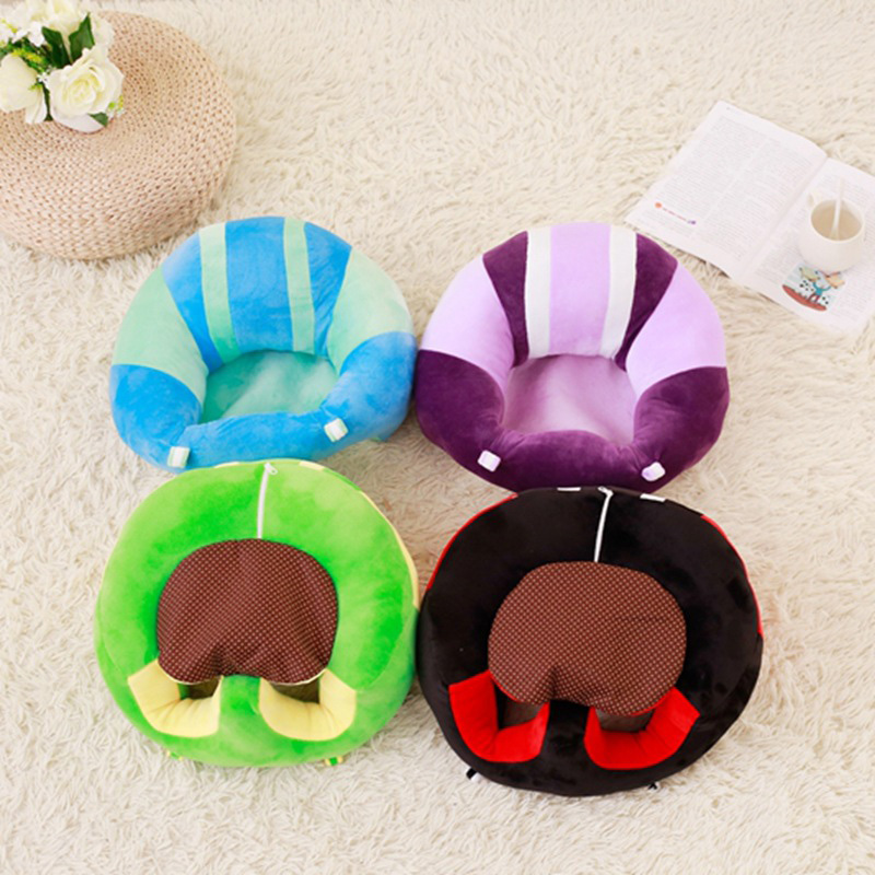 Image 4 - baby Infant Kids Children multifunction Travel Sitting soft Protective Pillow Floor Cushion Sofa feeding dining Seat Chair-in Children Sofas from Furniture