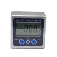 360 درجة المنقلة الرقمية الميل مستوى مربع مستوى أداة قياس الإلكترونية المنقلة زاوية متر زاوية قياس|ملحقات وقطع غيار أجهزة|أدوات -