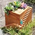 Maceta de Jardín de decoración Adornos de Dibujos Animados Micro Paisaje DIY Caja de Almacenamiento de materiales de jardinería Poco Penholder